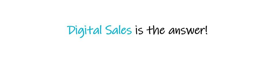 Digitaalinen myynti on vastaus