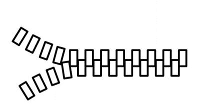 Asiakas zipperi: kaksi prosessia kohtaa