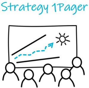 Strategia yhdellä sivulla. Strategy 1Pager.